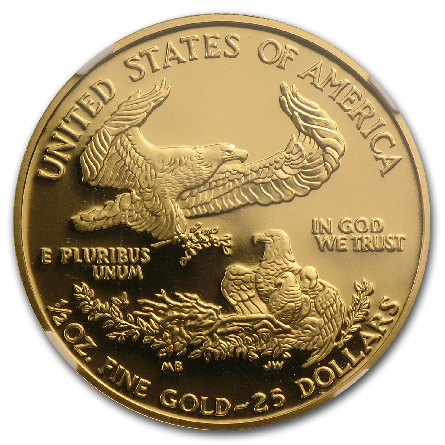 2004-W 1/2 oz Proof Gold American Eagle PF-70 NGC